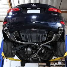 2012 lexus is 250 custom j2 engineering dual tip catback exhaust system for 06 12 lexus