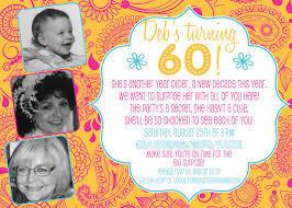 surprise 60th birthday 60th birthday card invitation wording festival tech com