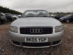 Audi A4 S Line 2005 Used 2005 Audi A4 Cabriolet 2 5 Tdi S Line Cabriolet 2dr For Sale