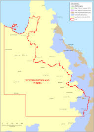Map Of Queensland Department Of Health Western Queensland Phn Profile