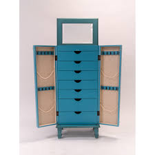 Jewelry Armoire Vintage Furniture Standing Mirrored Jewelry Armoire Antique Jewelry