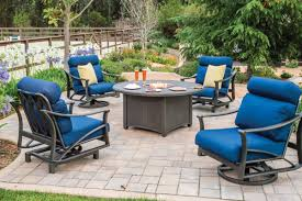 tropitone fire pit table reviews mhc outdoor living