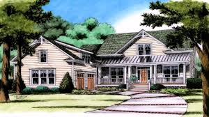 Large Front Porch House Plans by Classic American House Styles Youtube