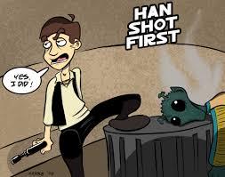 Han Shot First Meme - han shot first by front a little jpg