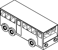 hippie van drawing sketch clipart bus pencil and in color sketch clipart bus