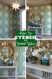 39 best u003c3 painting walls stencils designs u003c3 images on pinterest