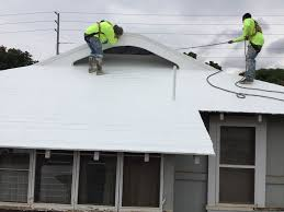Apoc Elastomeric Roof Coating by Residential Leakmaster Roofing