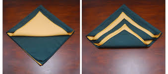 tree napkin fold the bright ideas