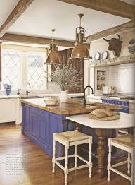 farm table kitchen island wonderful country kitchen with rustic island u2013 home design and decor