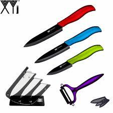 cheap kitchen knives set get cheap kitchen knives set stand aliexpress com