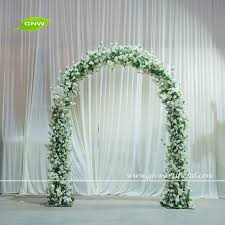 wedding arch for sale gnw 8ft white metal wedding arch with cherry blossom flowers for
