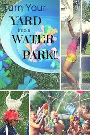 52 best backyard waterpark images on pinterest backyard ideas