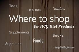 where to shop for hcg diet foods supplies and products hcg diet