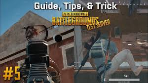 pubg 4x guide pubg guide tips 5 pubg 1 0 no more crouch jump test server