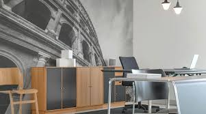 Pictures For Office Walls by Home Office Wall Murals Eazywallz