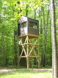 build my house building my 1st deer blind 6 6 family youtube cool shoot house