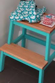 ikea bekvam step stool make over frame painted using annie sloan