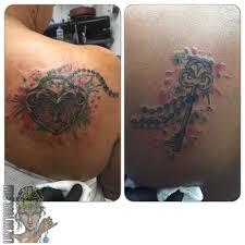 lnztattoos couples lock and key tattoo lock and key key lock
