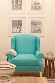 white blue wingback chair design ideas