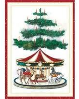 caspari cards bargains on entertaining with caspari carousel reindeer christmas