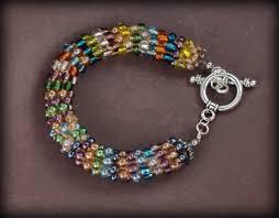 beaded bracelet crochet images How to bead crochet jpg