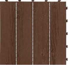 barn board 18 x 18 rubber interlocking tile at menards