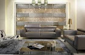 212 Modern Furniture by Leather Modern Sofa Set