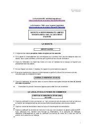 immatriculation chambre de commerce immatriculation principale au registre du commerce