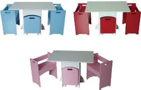 childrens table and chair set with storage funky childrens kids table and chairs set w toy box storage