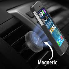 wizgear universal air vent magnetic car mount holder for cell