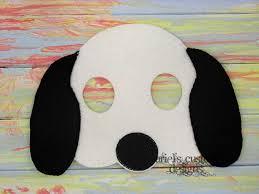 halloween dog mask snoopy mask snoopy costume dog mask dog costume felt