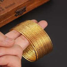 fashion jewelry gold bracelet images Women 39 s bracelet gold plated bracelet women 39 s bengles gold jpg
