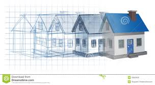 residential blueprints residential development stock photo image 33623620