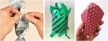 molecular origami templates for paper models of selected motm