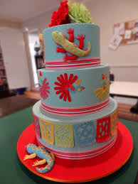 mexican fiesta cake three tiers cakecentral com