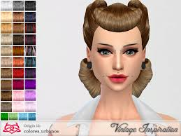 non hairstyles this hair is non alpha found in tsr category sims 4 female