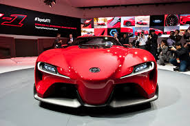 futuristic sports cars toyota ft 1 concept first look motor trend