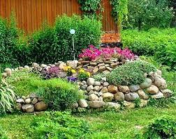 Rocks Garden Landscaping Rocks For Flower Beds Different And Great Garden