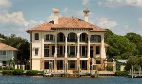 Venetian Palace Luxury Home Plan - Dream home design usa