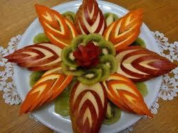 fruit decorations 8 carved fruit salad ban salad and food