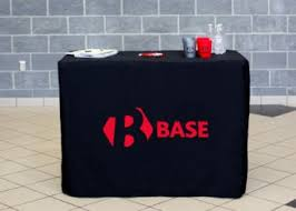 Custom Fitted Table Covers by Table Covers Order Your Custom Tablecloth Totallypromotional Com