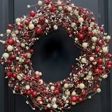 christmas wreath decorations home decorations