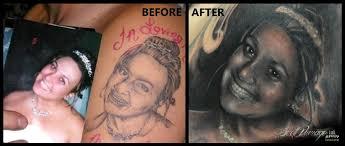 tattoo portraits on arm world u0027s worst portrait tattoo u0027 fixed by artist scott versago at