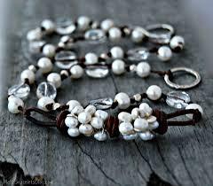 bead pearl bracelet images Pearls pearls pearls make bracelets jpg