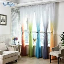 online get cheap curtains color gradient aliexpress com alibaba