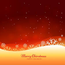 beautiful merry christmas background vector free download
