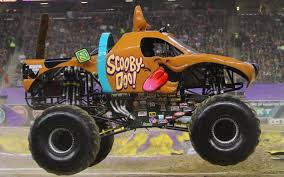 monster truck crash videos mahon u0027s journey leads her and scooby to myrtle beach monster jam