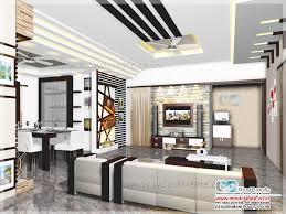 contemporary model house living interior kerala model home plans