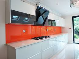 orange kitchens adorable 20 white kitchen orange splashback inspiration design of