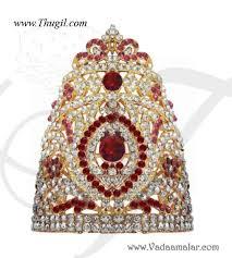 thugil store 2 5 hindu deity crown mukut kreedam